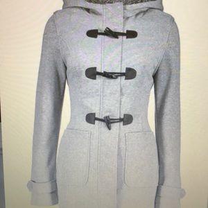 Heather gray hooded Jacket